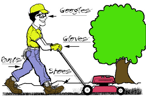 Lawn Tractor Safety : Important lawn mower safety tips that any household need